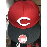 OC Sports Red w/ Black Bill C Logo Youth Cincinnati Reds Baseball Cap