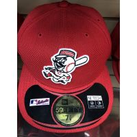 New Era 50Fifty All Red Mr. Redlegs Cincinnati Reds Baseball Cap