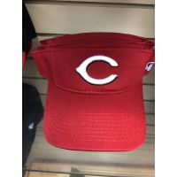 OC Sports All Red C Logo Cincinnati Reds Visor