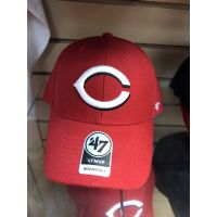 '47 Brand MVP All Red Cincinnati Reds Baseball Cap