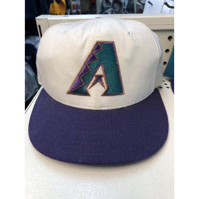 New Era 5950 White Arizona Dbacks Cap
