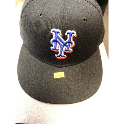 New Era 59Fifty Black New York Mets Baseball Cap