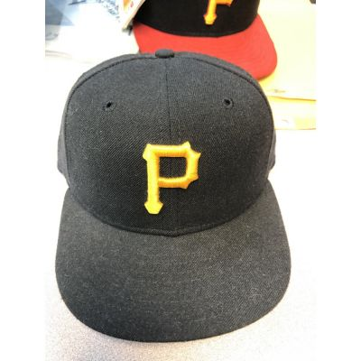 New Era 5950 Black Pittsburgh Pirates Cap