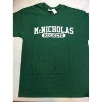 McNick Rockets Green Tee Shirt