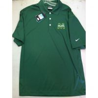 McNick Rockets Green Nike Golf Polo