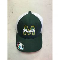 McNick Rockets Green w/ White Mesh Baseball Cap