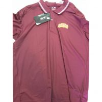 Turpin Spartans Maroon Adidas Polo