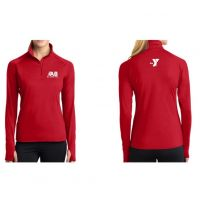 Barracuda Sport-Tek® Ladies Sport-Wick® Stretch 1/2-Zip Pullover