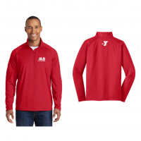 Barracuda Sport-Tek Sport-Wick Stretch 1/2-Zip Pullover