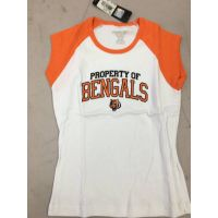 Reebok White Property of Bengals Tee