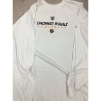 Reebok White NFL Equipment Long Sleeve Tee