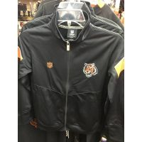 NFL Team Apparel Youth Black Cincinnati Bengals Jacket