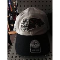 '47 Brand White Cincinnati Bengals Running Tiger Hat