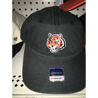 Reebok Women's Black Cincinnati Bengals Tiger Head Hat