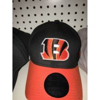 New Era 39THIRTY Black Cincinnati Bengals B Logo Hat