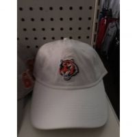 All White Women's Cincinnati Bengals Tiger Head Hat