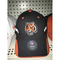 NFL Team Headwear Black Youth Cincinnati Bengals Tiger Head