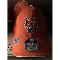 Reebok Sideline Orange Cincinnati Benglas Tiger Head Hat