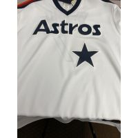 Retro White Houston Astros Craig Biggio Jersey