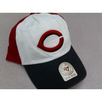 Cincinnati Reds 47 Brand 3-Tone Adjustable Hat