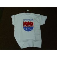 White Cincinnati Royals Crown Tee Shirt