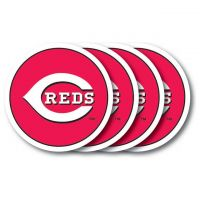 Cincinnati Reds Vinyl Coaster Set