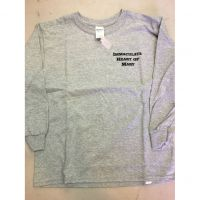 IHM Gray Long Sleeve Tee Shirt