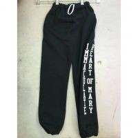 IHM Black Sweatpants