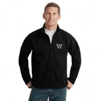 J705 Port Authority Textured Soft Shell Jacket