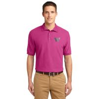K500 Port Authority Men's Pink Polo