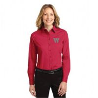 L608 Port Authority Long Sleeve Easy Care Shirt