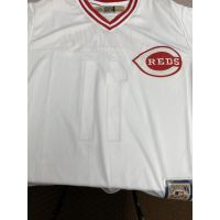 Retro Cincinnati Reds Barry Larkin Jersey