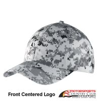 Motorsports Country Club Port Authority® Digital Ripstop Camouflage Cap