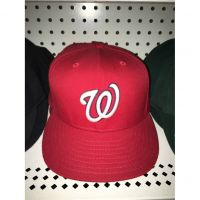 New Era 59FIFTY Red Washington Nationals Cap
