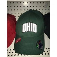 Top of the World Green Ohio University Hat