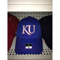 Adidas Royal Blue Kansas Hat