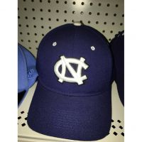 North Carolina Navy Zephyr Fitted Cap