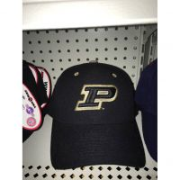 "Purdue Zephyr Fitted Cap with ""P"" Logo"