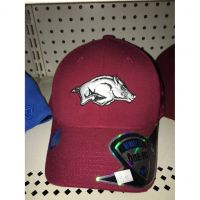 Top of the World Memory Fit Arkansas Hat