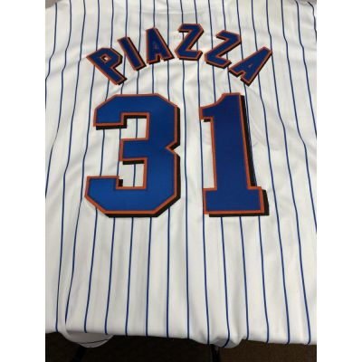 Retro New York Mets Mike Piazza Jersey #2