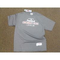 Majestic Gray Property of Cincinnati Reds Tee