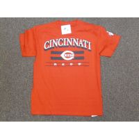 Red Cincinnati Reds 2-Stripe Tee