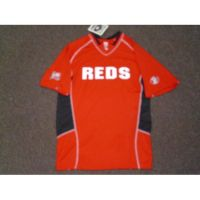 Majestic Red Cincinnati Reds V-Neck Pullover Cooperstown Collection '75 Big Red Machine