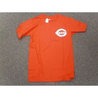 Red Cincinnati Reds Majestic Pocket Logo Tee