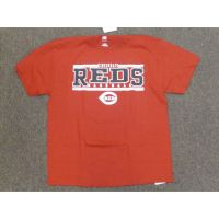 Red Cincinnati Reds 2 White Stripe Tee