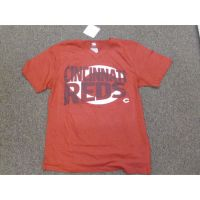 Red Cincinnati Reds Over C Logo Tee