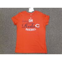 Women's Red Cincinnati Reds Central Division Tee