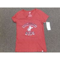 Women's Red Cincinnati Reds Mr. Redlegs Tee