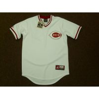 Majestic White Cooperstown Collection Jersey
