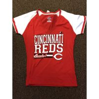 Majestic Fan Fashion Red Cincinnati Reds Baseball